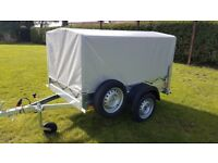 NEW Car trailers 6' x 4 WITH COVER £540 inc vat
