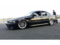 """BMW E39 530D TURBO - BREAKING PARTS - SPARES 18"""" PARALLEL- LEATHERS - M SPORT BUMPERS AIR BAG KITS"""