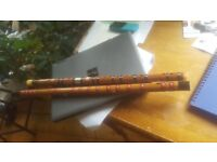 2 chinese flutes
