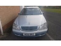 Mercedes s320 for sale or swap