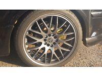18 inch wolfrace alloys....