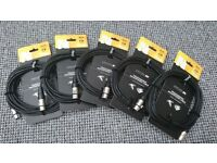 Stagg N-Series High Quality Microphone Cables (6M)