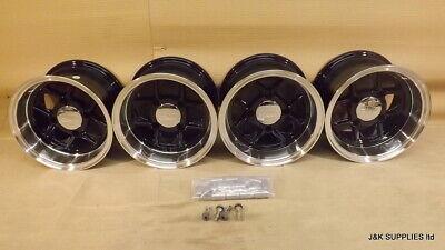 10x6 JBW MAMBA WHEELS CAR SET OF 4, 6x10 -7ET, 4X101.6  - CLASSIC MINI