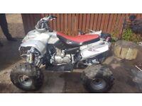 200cc Quad Bike, running order, ATV, Motorbike,