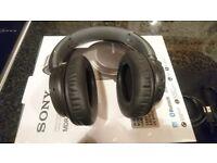 Sony Wireless Noise-cancellation Headphone - Black MDR-ZX770BN