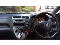 Honda, Civic, 2000, 5 Doors, Auto, Petrol