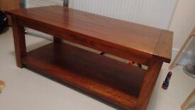 Coffee Table. dark wood John Lewis, great condition