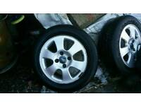 Ford 4 stud alloys great condition