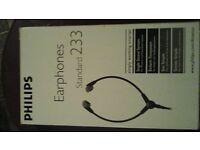 philips earphones standard 233