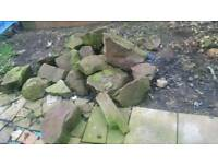 Large rockry stones
