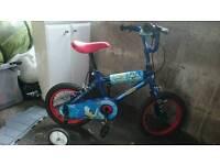 Child's boy bike