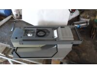 bretford attache overhead projector, in carrying case
