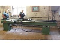 Various equipment: Router x 2, Transom Welder, Single Head Welder, Double Mitre Saw, V. Notch Saw