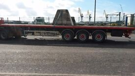 45' flat trailer psk