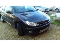 peugeot 206 with little attention needed