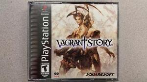 Vagrant Story PS1 RPG Game