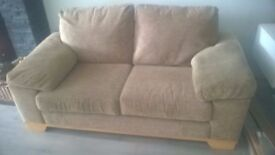 2 seater sofa and 1 armchair