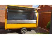 Mobile Catering Trailer Burger Van Hot Dog Coffee Trailer 3000x1650x2300
