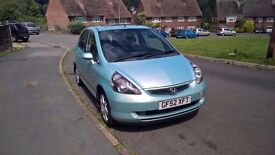 Only Honda Jazz 65000 low millage 52 plate 1.4 se -sport dci 5 doors Full Service History