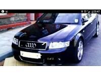 AUDI A4 1.8T S LINE 2004 black