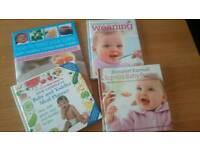 Baby Weaning Books x4