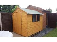 BRAND NEW GARDEN SHED 8x6