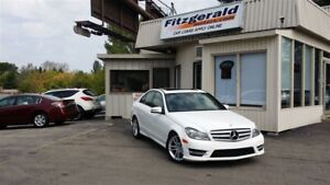 2013 Mercedes-Benz C-Class C 300 4MATIC - LEATHER! SUNROOF!
