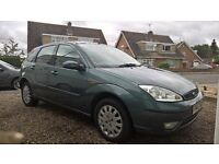 Ford Focus 1.6 Ghia, Excellent Condition, Low Mileage