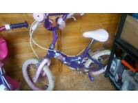 16inch girls bike