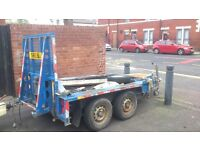 Ifor williams plant trailer £600