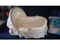 Moses basket with all essentials