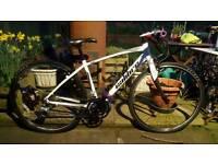 Ladies Girls Small Road Town Hybrid Bike
