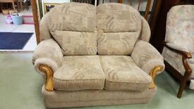 2 Seat Sofa & Arm Chair