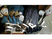 Golf Clubs - Job Lot - John Letters & Macgregor