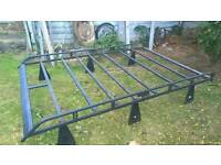 Transit roof rack & Ladder