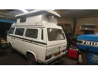 VW T25 camper holdworth villa 3