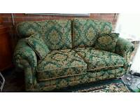 Large Kirkdale 2 Seater Sofa, Chair & Pouffe