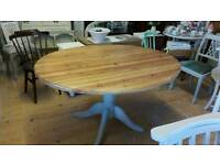 Dinning table oval