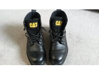 Caterpillar Boots size UK 7 .Worn Once