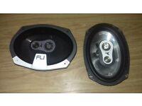 375W 6x9 car speakers