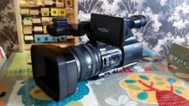 Sony HDV video camera model no HDR.FX1000
