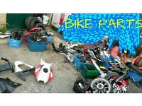 Bike parts job lot