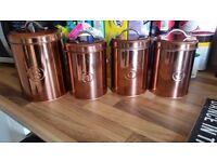 Job lot of copper effect items