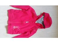 Brand New Blue Zoo Little Girls Lovely Pink Hoodie 2-3 years