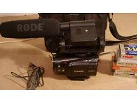 Canon HD, mini dv casette camcorder Legria HV40