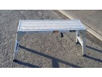 Rhino work platform alloy scaffold