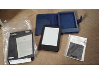 "Amazon Kindle E-reader, 6"" Glare Free Touchscreen display, Wi-Fi"