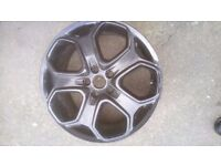 FORD FOCUS S.T 18 INCH ALLOY WHEEL IN BLACK