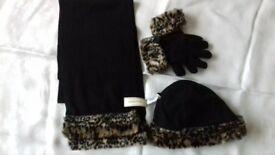 Hat scarf & gloves set