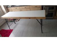 Table, car boot table, paste table
